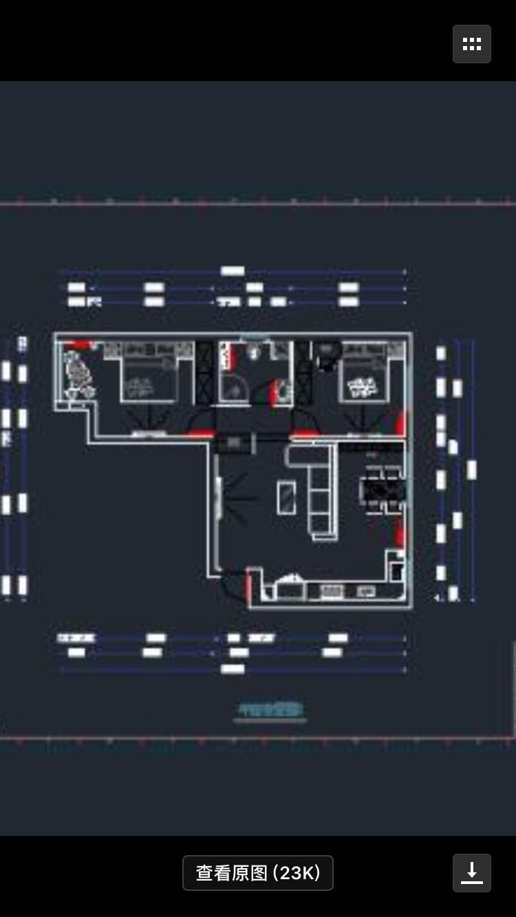 98.00㎡ 三室一厅一厨一卫 现代简约