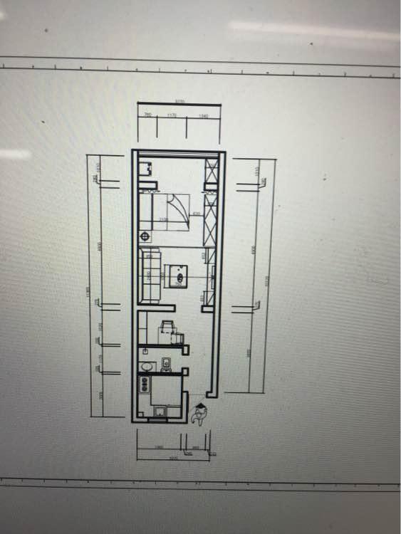 42平 一居室