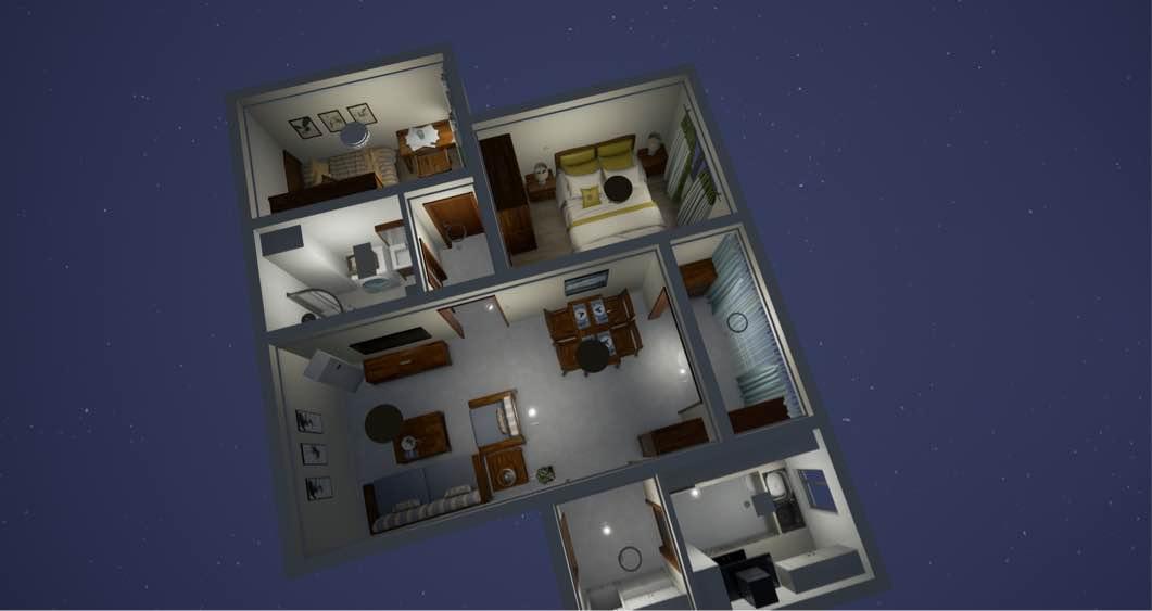 80平 兩室一廳