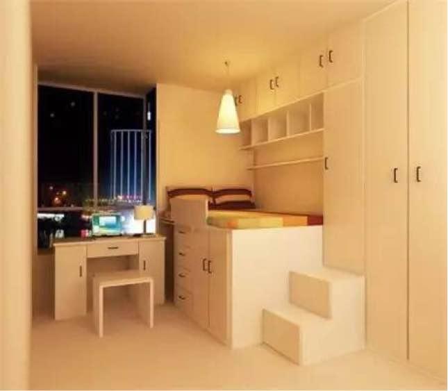 55平 两居室