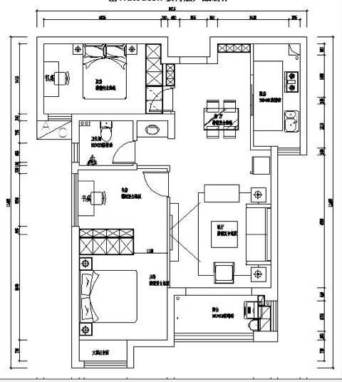 83平 2室2厅1厨1卫