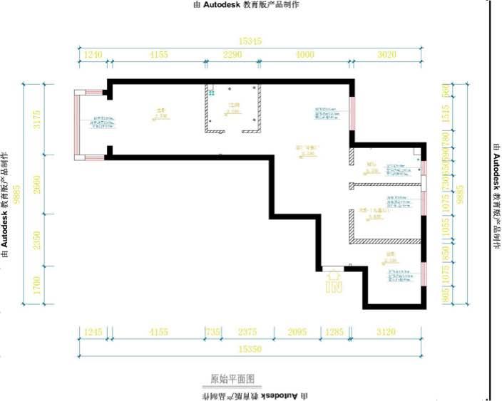 92平 3室2厅1厨1卫
