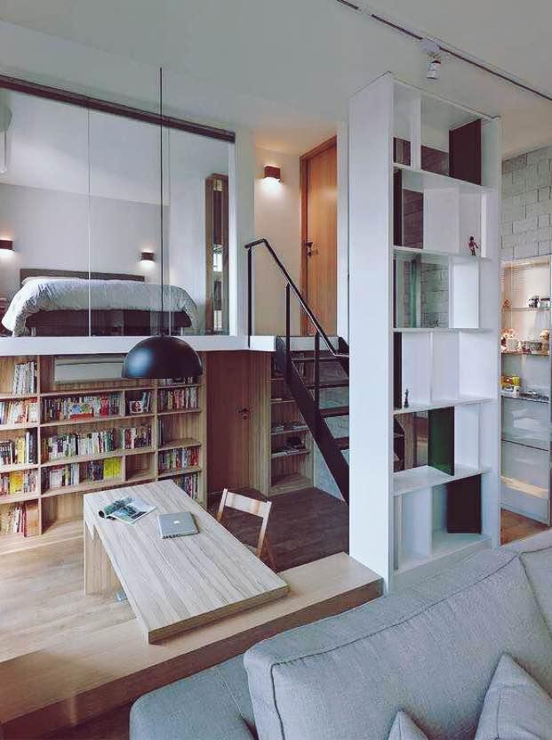60.00㎡ 二室一厅一厨一卫 现代简约