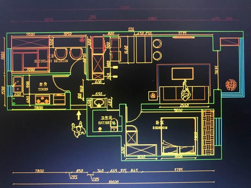 71.30㎡ 二室一厅一厨一卫 北欧风格