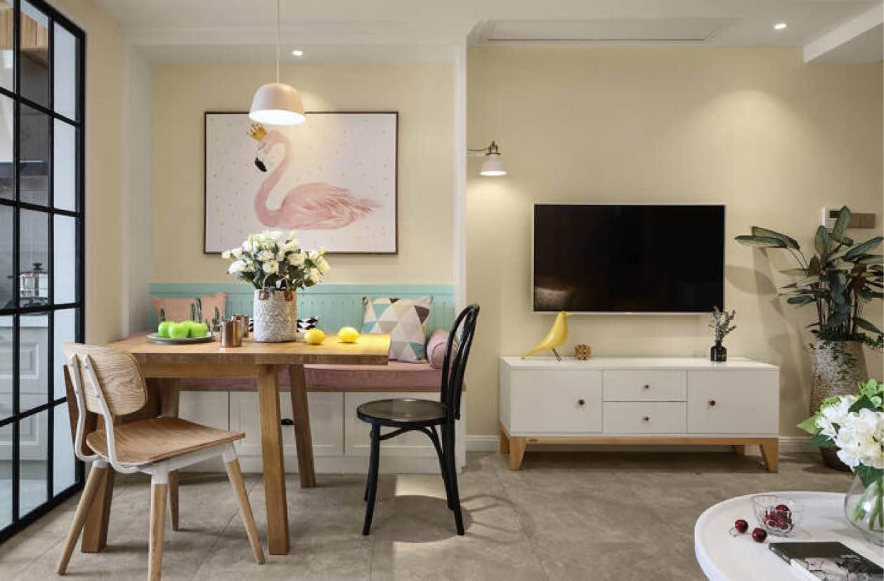 38.24㎡ 一室一厅一厨一卫 现代简约